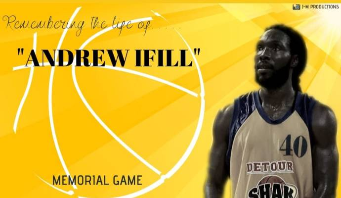 T&T Basketballers honour Andrew Ifill